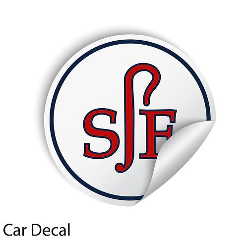 SJF Car Sticker