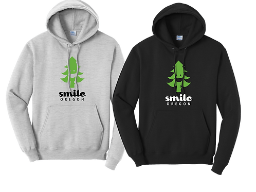 Cotton Hoodie - Smile Oregon