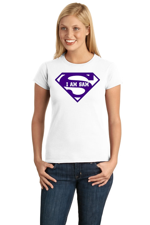 Superman I am Sam - White