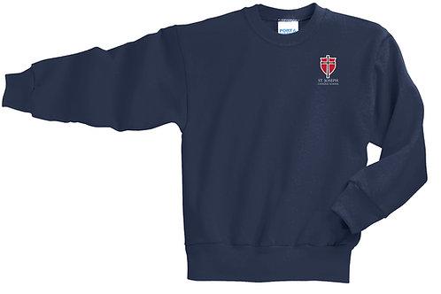 Fleece Crewneck Sweatshirt - St. Joseph