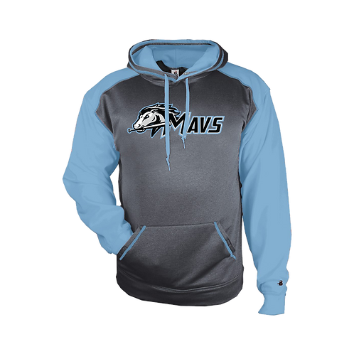Sport Heather Hoodie - Mavs Baseball