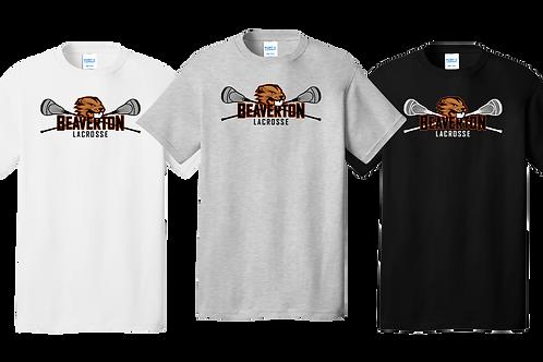 Men's/Youth 100% Cotton Tee - Beaverton Lacrosse