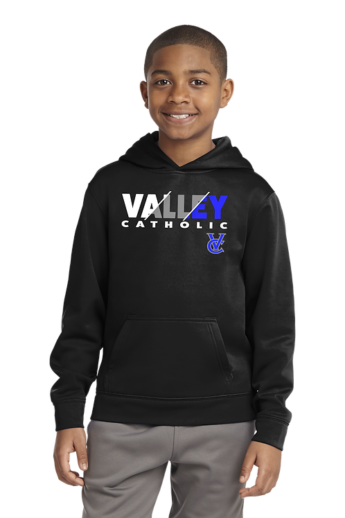 Men's/Youth Dry Fit Hoodie - Valley Catholic