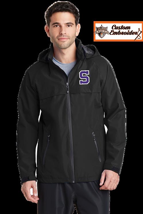 Men's Waterproof Jacket with Hood - Sunset