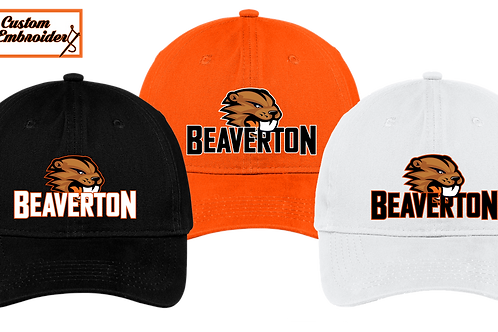 Unstructured Low Profile Hat - Beaverton
