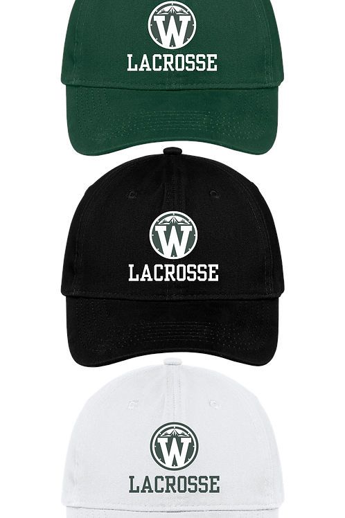 Unstructured Low Profile Hat - Wilson Lacrosse