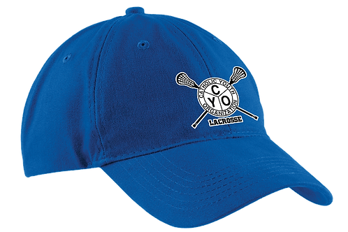 Unstructured Low Profile Hat - CYO Lacrosse