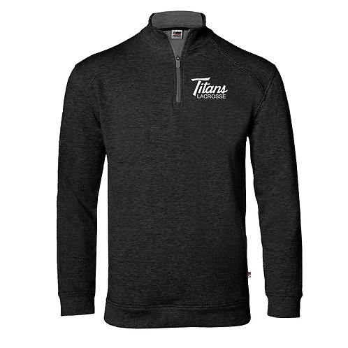 Men's Badger Fit Flex 1/4 Zip Pullover - Titans Lacrosse