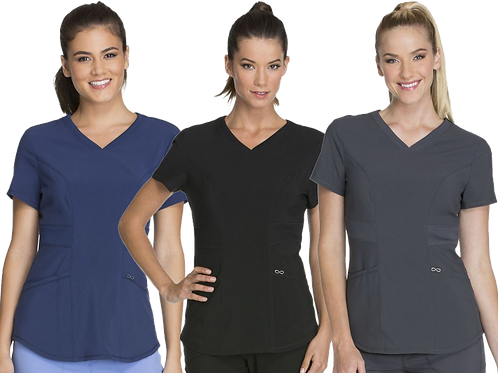 Ladies Contemporary V-Neck Top
