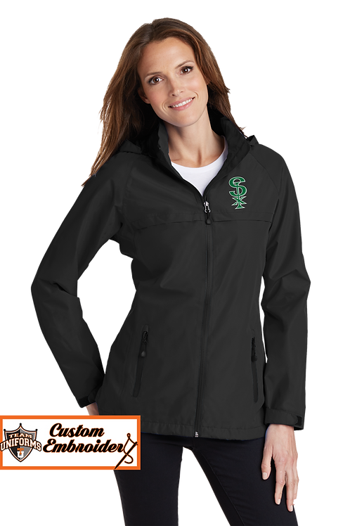 Ladies Waterproof Jacket with Hood - SPX