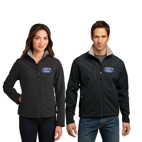 Soft Shell Jacket With Embroidered Ford Logo