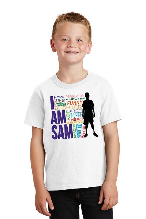 I AM SAM Silhouette - White