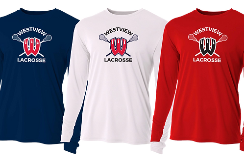 Men's L/S Dry Fit Shirt - Westview Lacrosse