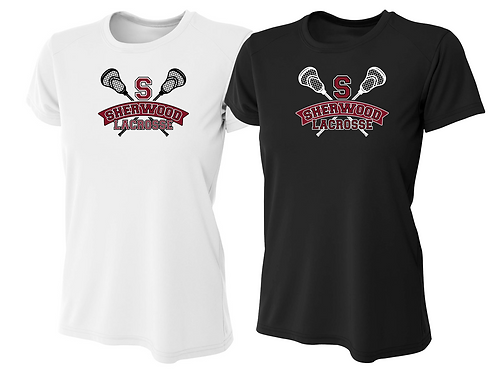 Ladies Dry Fit Shirt - Sherwood Lacrosse