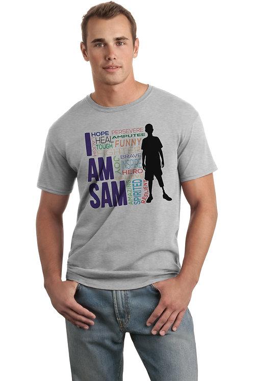 I AM SAM Silhouette - Grey