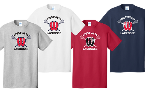 Unisex Cotton Tee - Westview Lacrosse