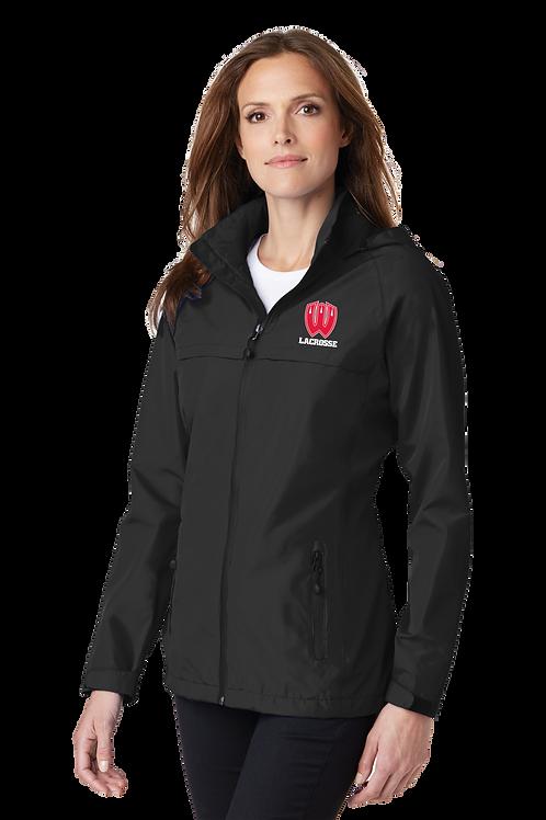 Ladies Waterproof Jacket with Hood - Westview Lacrosse