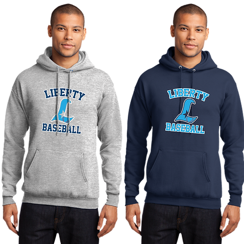 Cotton Hoodie - Liberty Baseball