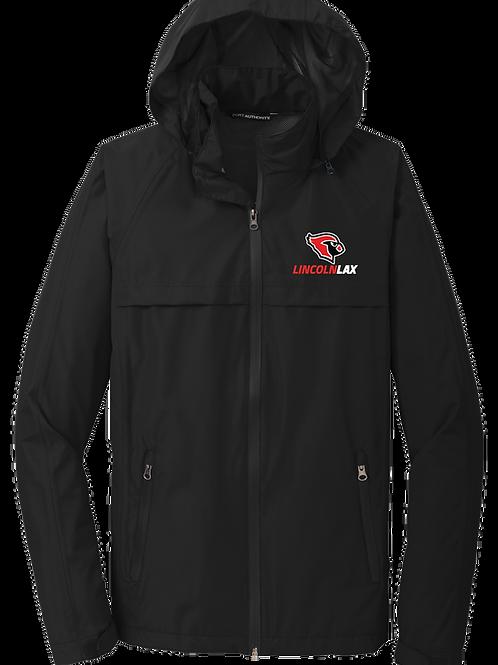 Men's Rain Jacket -  Cardinal Lax
