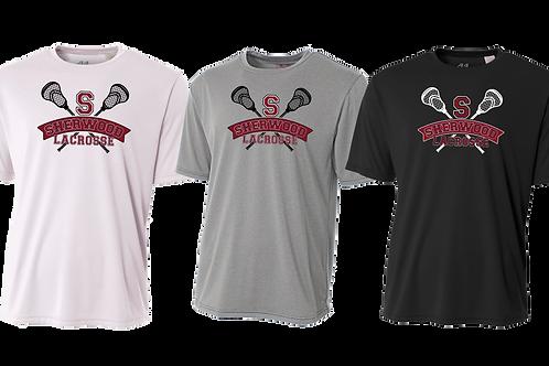 Men's/Youth Dry Fit Shirt - Sherwood Lacrosse