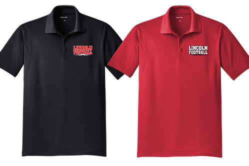 Dry Fit Polo Shirt - Lincoln Football