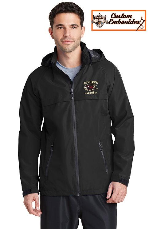 Men's Waterproof Jacket with Hood - Skyhawks Lax
