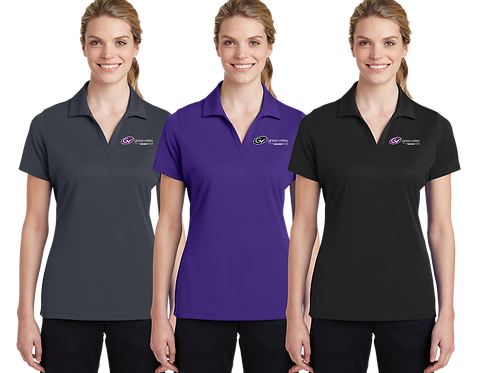 Ladies Dry-Fit Polo - Grass Valley