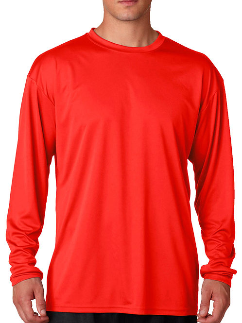 L/S Dry Fit Under Shirt - Red