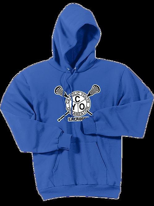 Cotton Hoodie - CYO Lacrosse