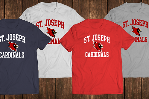 Men's/Youth Cotton Tee - St. Joseph Cardinals