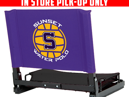 Sunset Water Polo Stadium Chair