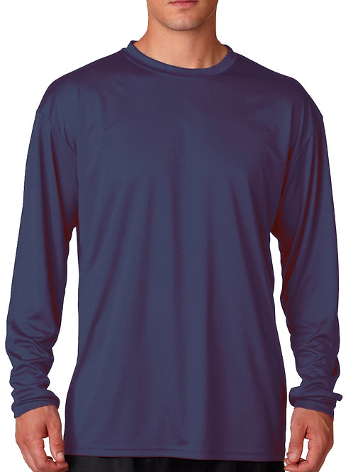 L/S Dry Fit Under Shirt  - Navy