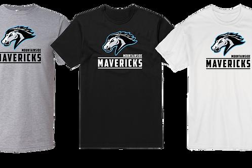 Men's/Youth Cotton Tee - Mountainside Mavericks