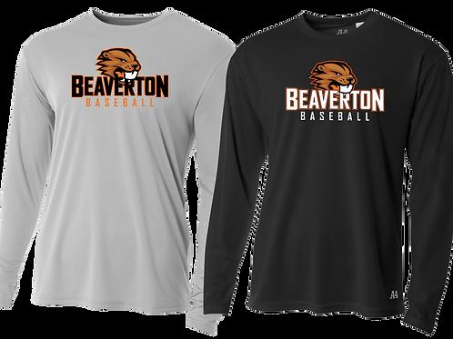 Youth/Men's L/S Dry Fit Shirt - Beaverton Baseball