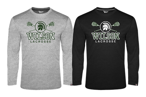 Men's Badger Fit Flex L/S Tee - Wilson Lacrosse