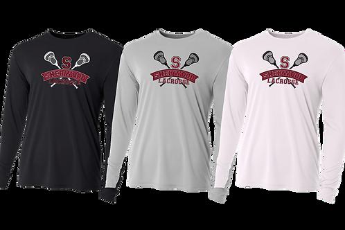 Men's/Youth L/S Dry Fit Shirt - Sherwood Lacrosse
