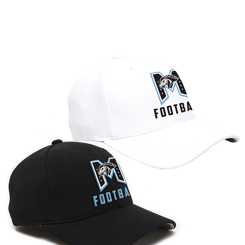 """Structured Pro Crown Hat - """"M"""" Football"""