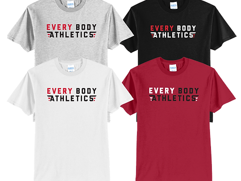 Men's/Youth Cotton Tee - Every Body Athletics