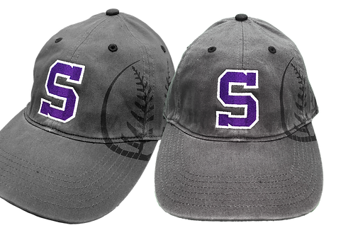 Unstructured Low Profile Hat - Sunset Baseball