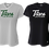 Thumbnail: Ladies S/S V-Neck Dry Fit Shirt - Titans Lacrosse