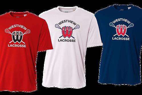Men's S/S Dry Fit Shirt - Westview Lacrosse