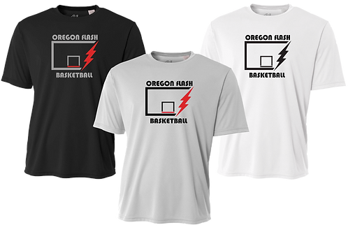 Men's/Youth Dry Fit Shirt - Flash Backboard Logo