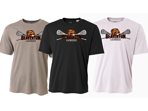 Men's/Youth S/S Dry Fit Shirt - Beaverton Lacrosse