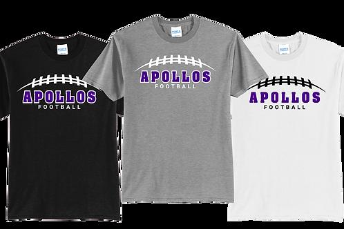 Men's/Youth Cotton Tee - Apollos Football