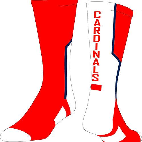Custom St. Joseph Cardinal Socks