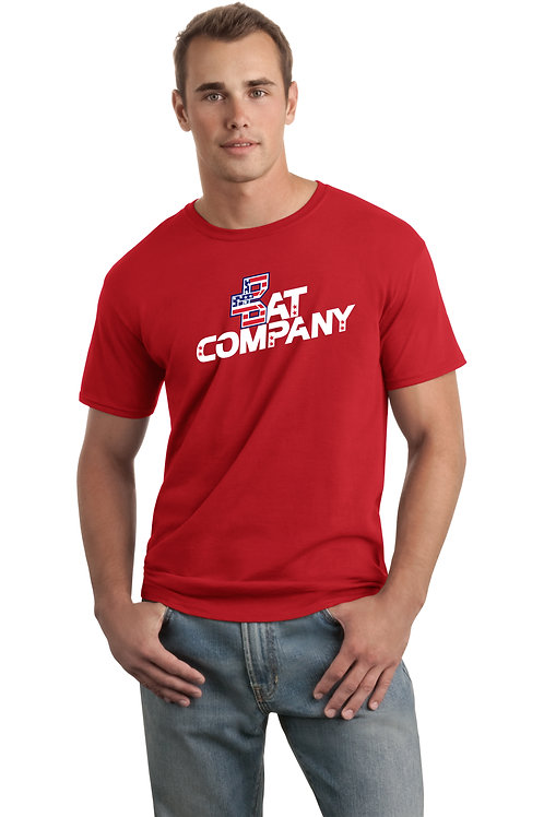 Bat Company Cotton Tee-Red