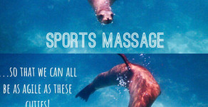Benefits of Sports Massage...