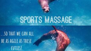 Benefits of Sports Massage...