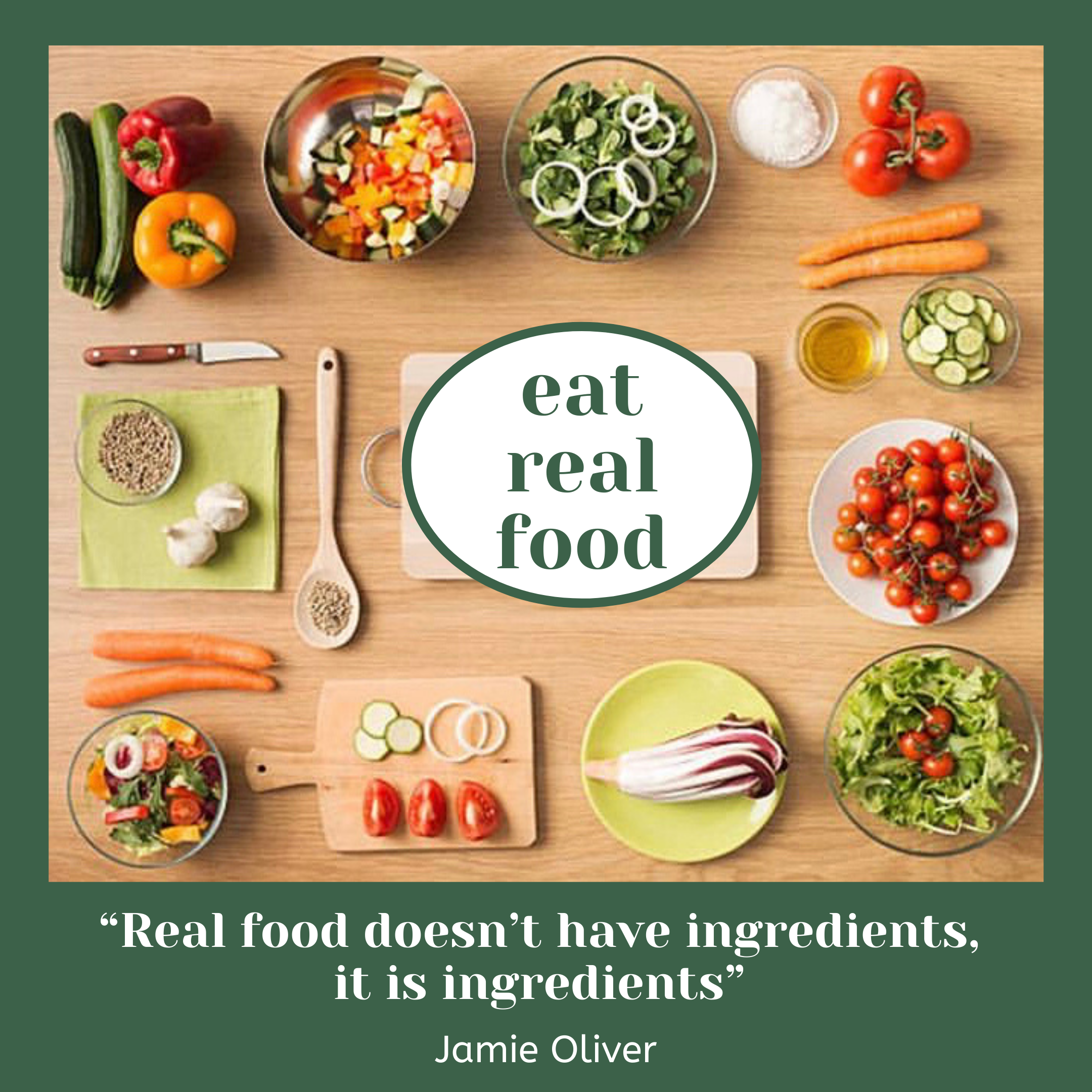 Importance of Eating Real Food