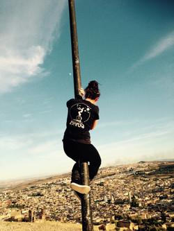 Astrid surplombe Fez